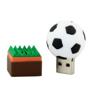 Voetbal usb stick. 4GB