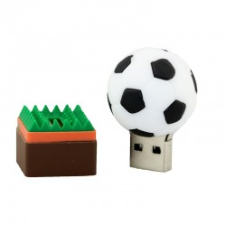 Voetbal usb stick. 2GB