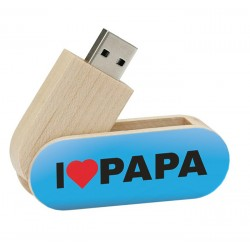 I love papa vaderdag cadeau usb stick - model 1047