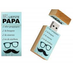 Liefste papa vaderdag cadeautje usb stick - model 1044