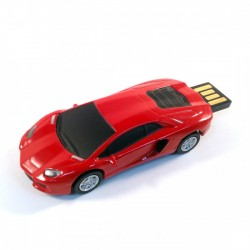 Lamborghini usb stick 16GB rood